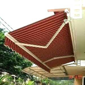Canopy Awning Gulung